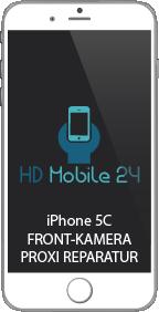 Telefonieren mit iPhone 5C Display bleibt an, dann ist der Proximity Sensor defekt. Dabei wird auch die Frontkamera gewechselt.