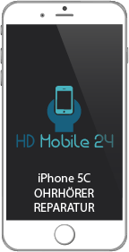 Der iPhone 5C Ohrhörer wird auch als Earpiece bezeichnet. Dieser wird mit der Zeit leiser durch Unreinheiten. Makeup schließt die Öffnungen zum Teil oder sonstiges. Schokolade im Ohrhörer ist hin und wieder auch schonmal vorgekommen. Eine Reinigung der Öffnungen des iPhone 5C Ohrhörer Earpiece ist durch seine Position schlecht möglich.