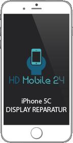 Display Reparatur des Apple iPhone 5C. Wenn die LCD Einheit beschädigt ist oder auch das Glas der Toucheinheit. Das Retina Display iPhone 5C ist das letzte iPhone ohne Touch ID.