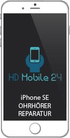Telefonieren am Ohr beim Apple iPhone SE ist nichts mehr zu hören. Beim telefonieren kommt kaum Ton oder sehr verzerrt