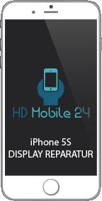 iPhone 5S Display hat streifen im Bild, iPhone 5S Touch reagiert nicht mehr, das Glas ist zerbrochen,